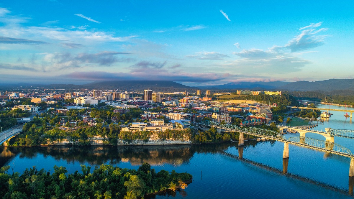 Chattanooga City Skyline