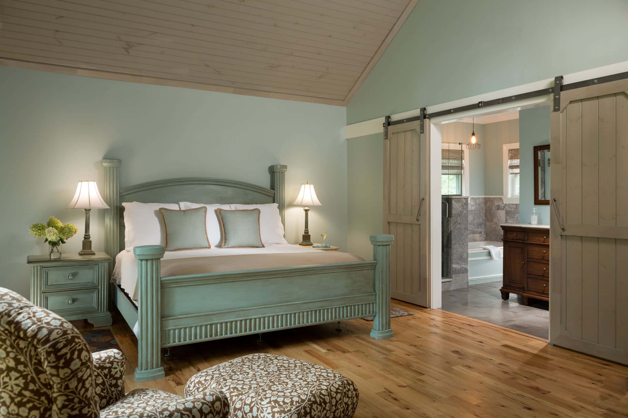 Return to Room 22 at Chanticleer Inn after a long day of rock climbing in Chattanooga